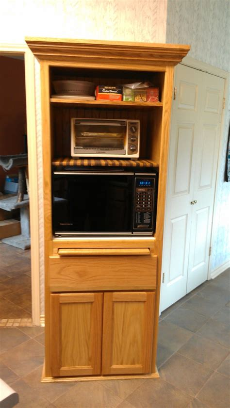 kitchen microwave cabinet microwave pantry cabinet with microwave insert at