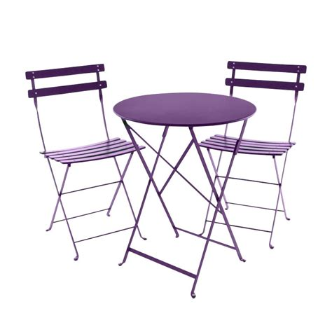Fermob Bistro Table And Chairs Bistro Metal Garden Set Fermob Garden Tables Garden Furniture Outdoor Ambientedirect