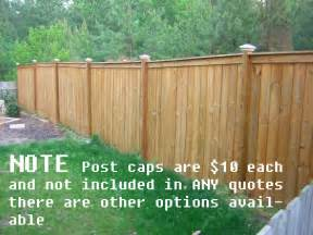 free raleigh fence quotes wood fence estimates prices cost