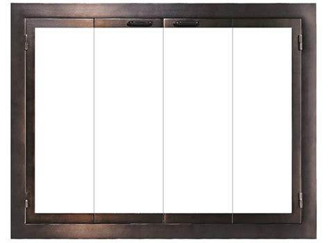 Masonry Glass Fireplace Doors   Design Specialties
