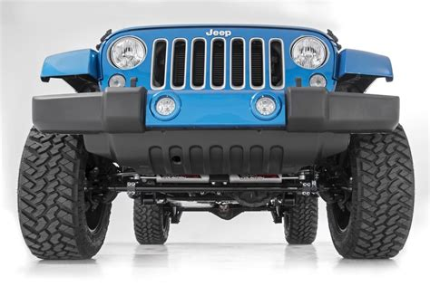 dual steering stabilizer jeep jk performance 2 2 dual steering stabilizer for 2007 2017