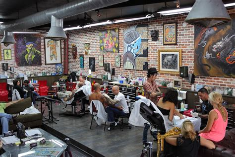 ny ink s ami james visits the miami ink crew over the