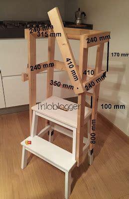 sgabelli fai da te come costruire una scaletta montessoriana learning tower