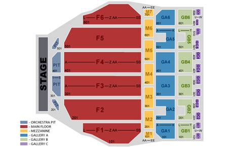 fox theater floor plan george lopez in detroit mi groupon
