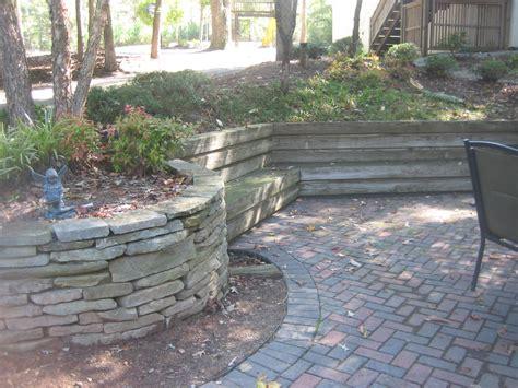 Retaining Wall Installation Rock Retaining Walls Installation Mcplants