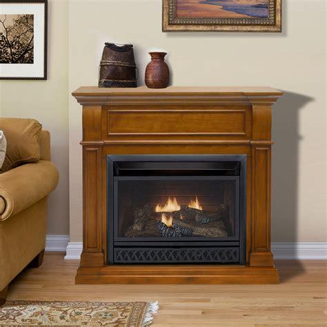 procom dual fuel vent free fireplace procom ventless fireplace dual fuel fireplace 26 000 btu
