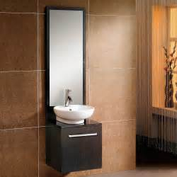 18 bathroom sink 18 quot decker wall mount vessel sink vanity and mirror