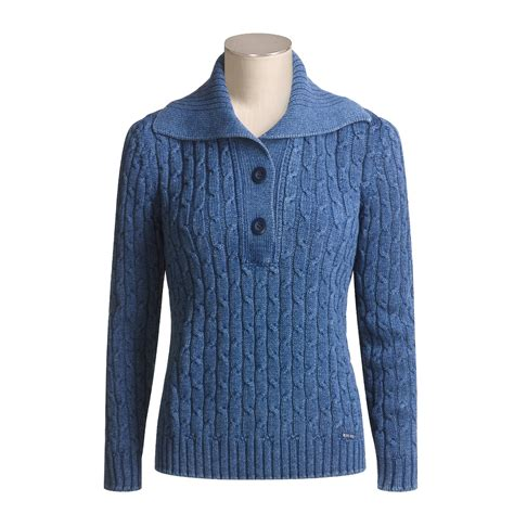 cotton cable knit sweater blue willi s cotton cable knit sweater for 2004h