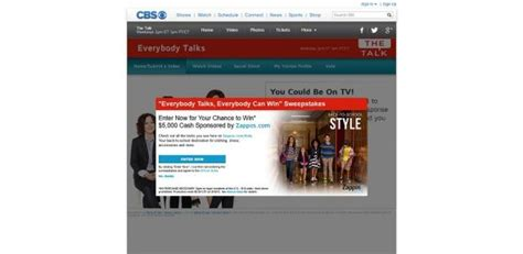 Thetalk Com Everybodytalks Sweepstakes - thetalk com everybodytalks the talk everybody talks everybody can win giveaway