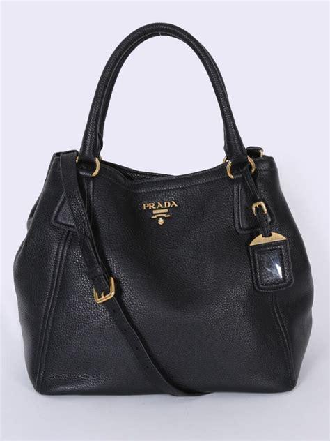 Prada Bag 2 prada sacca 2 vitello daino bag nero luxury bags