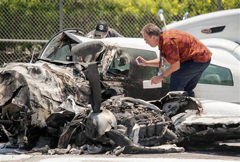 plane crash 2 hurt after small plane crashes on california highway