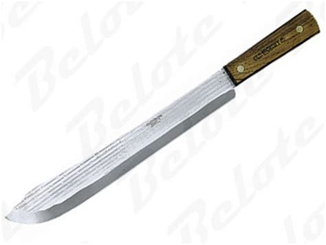 ontario kitchen knives ontario old hickory cutlery 14 quot butcher knife 7113 new