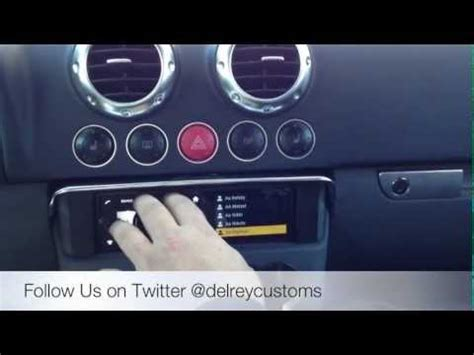 2006 audi tt asteroid radio upgrade with google maps by