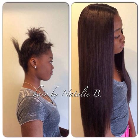 vixen sew in with 12 14 and14 inches flawless sew in hair weaves by natalie b natalie