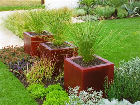 large container gardening 10 ideas for using large garden containers hgtv