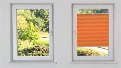 plissee zeit cosiflor plissee vs2 montage in der glasleiste 2
