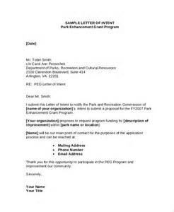 Nih Grant Cover Letter Exle How To Write A Letter Of Intent For Nih Grant Cover