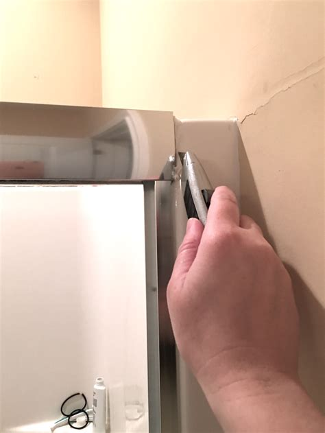 removing shower door housekeeping how to clean a shower chaotically