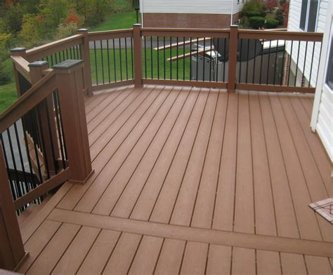 The Deck At by Variety Of Railing Options For Decks