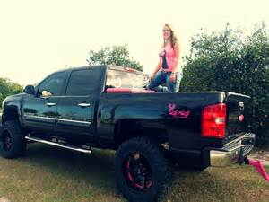 Pink Truck Accessories Chevrolet Me And My Black And Pink Chevy Silly Boys Trucks Are For