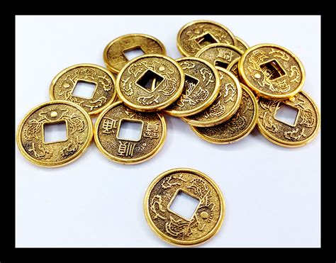 Ancient Chinese Charms And Coins | ancient chinese coin charm 20pcs 183 beadshines 183 online