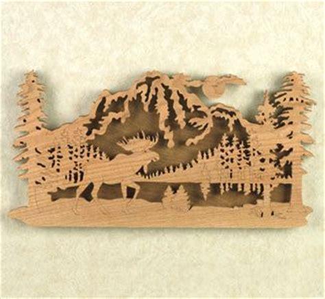 moose scroll  ornaments moose ridge project pattern