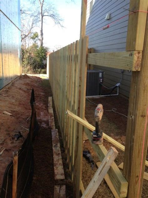 can you put a privacy fence in your front yard 1000 ideas about shadow box fence on privacy