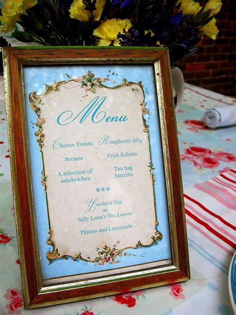 Brag Monday Script Organizer And French Tea Party Menu Garden Menu Ideas