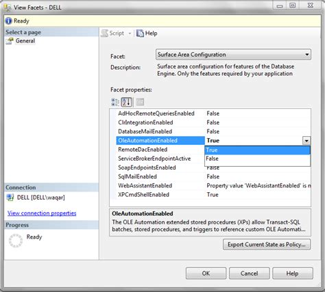 configure xp sql server waqar farooq janjua steps to enable clr integration ole