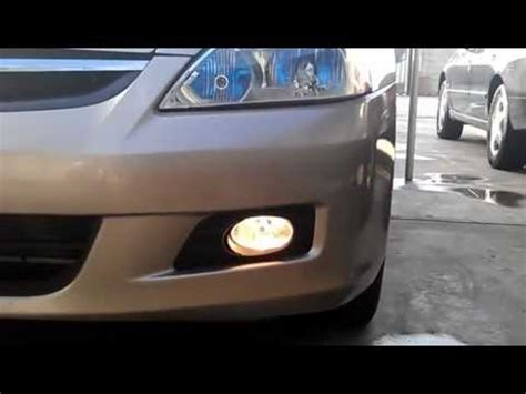 2006 honda accord fog lights 2006 honda accord fog lights