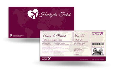 Hochzeitseinladung Als Ticket by Hochzeitseinladung Flugticket Jetzt Bestellen