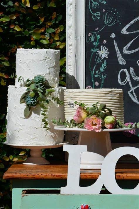 rustic chic chalkboard bridal shower ideas