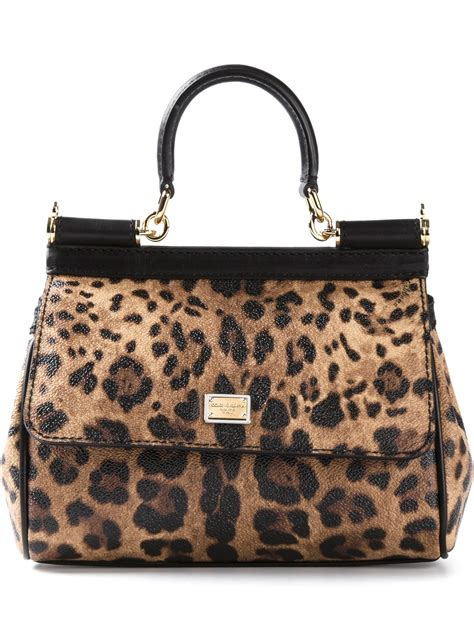 Dolce And Gabbana Clamshell Shoulder Bag by Lyst Dolce Gabbana Miss Sicily Shoulder Bag In Brown