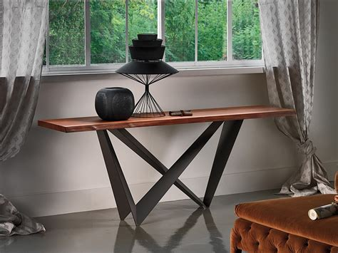 cattelan italia console table cattelan italia westin wood console table by giorgio