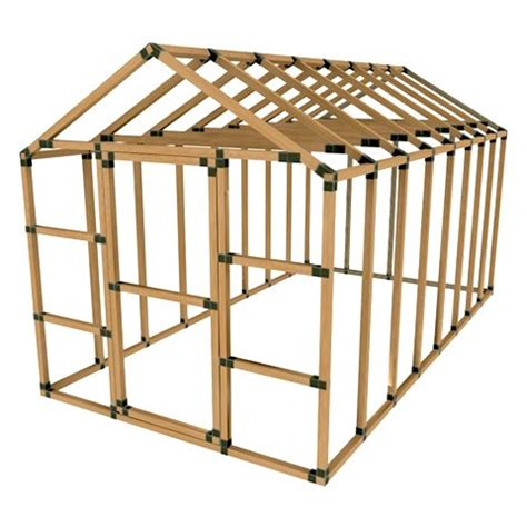 Shed Frame Kit by Do It Yourself Storage Shedshed Plans Shed Plans