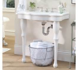 Parisian Pedestal Double Sink Console An Affordable Vanity Alternative Won T Be Money Down The