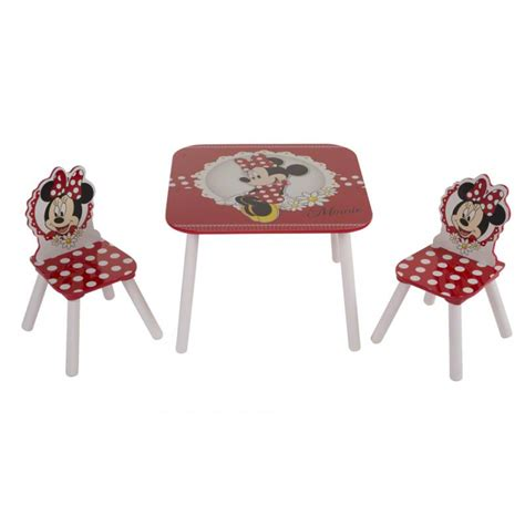 Minnie Mouse Table And Chairs by Disney Minnie Mouse Table And Chair Set