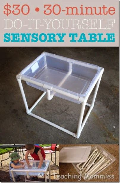 Diy Sensory Table by How To Build Your Own Water Sand Sensory Table For Play