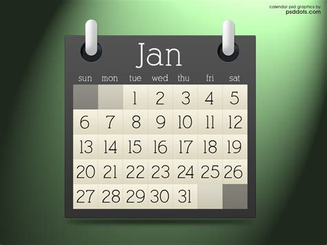 Calendar Graphic Brown Calendar Graphics Psd