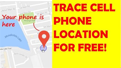 Free Cell Phone Number Location Tracker How To Track A Cell Phone Or Mobile Number Location For