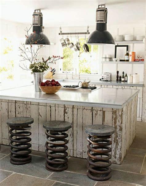 Industrial Kitchen Style by Le Tabouret De Bar Industriel Apporte Une Touche D 233 Co Dans