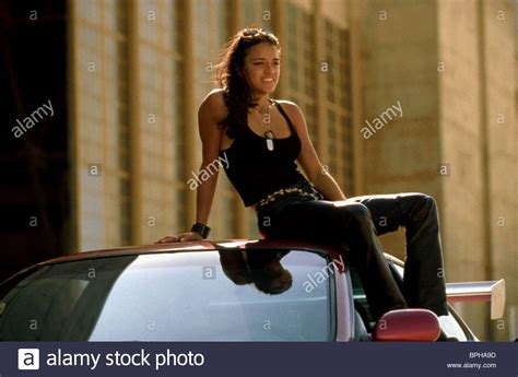 fast and furious 8 jordana jordana brewster the fast and the furious 2001 stock