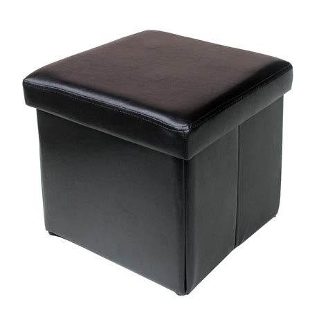 black cube ottoman white leather cube ottoman perfect get quotations modus