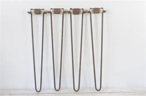 Folding Metal Table Legs Vintage Hair Pin Legs 28 Folding Hair Pin Table Legs Woodstock Metal Products Haute Juice