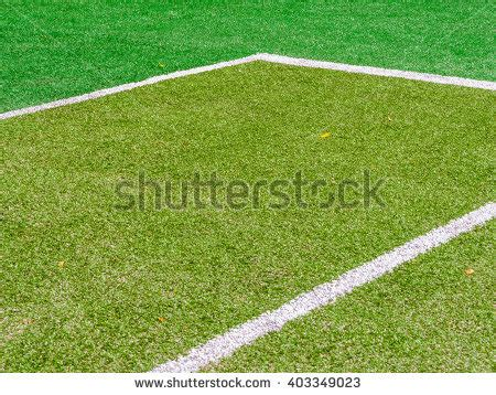 white line on soccer football field stock photo 71301646