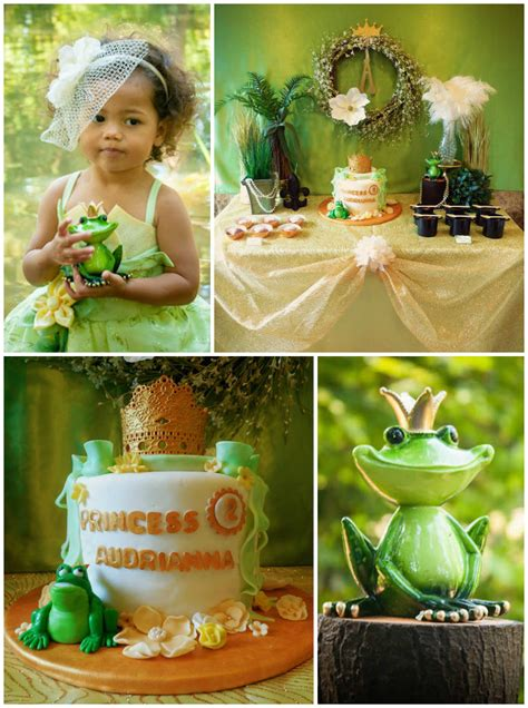 kara s ideas princess and the frog birthday