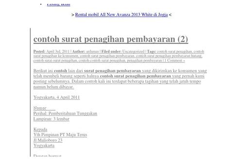 Contoh Surat Teguran Pns Download Neuthromer