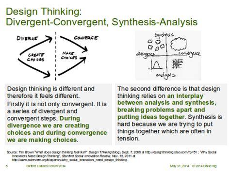 design thinking diverge converge scenarios and design instigating change methods framing