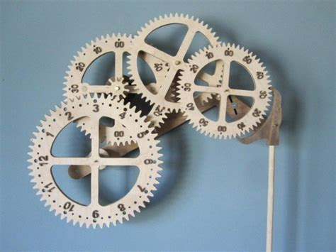 wooden gear clock page  woodworking talk