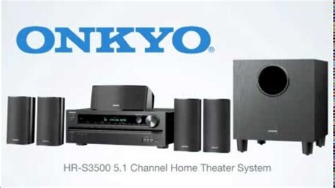 onkyo ht s3500 5 1 channel home theater receiver speaker